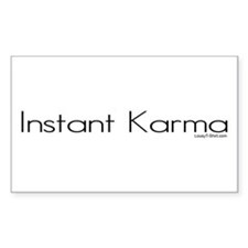 Instant Karma Rectangle Decal