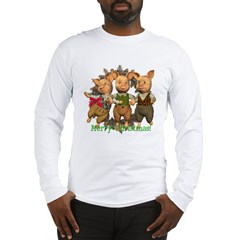 The Three Little Pigs Long Sleeve T-Shirt