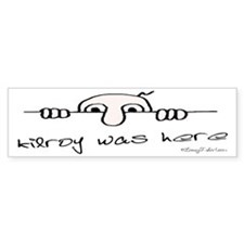 Kilroy Was Here Bumper Bumper Sticker