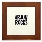 Arjun Rocks Framed Tile