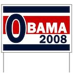O: Obama 2008 Yard Sign