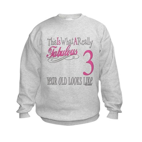 3rd Birthday Gifts Kids Sweatshirt
