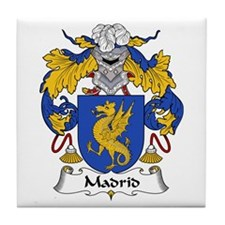 Madrid Tile Coaster