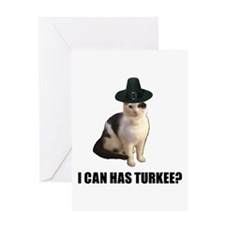 Can has turkee Greeting Card