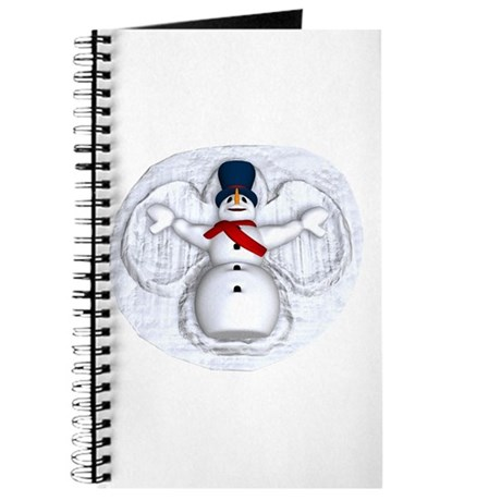 Snowman Snow Angel Journal