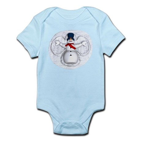 Snowman Snow Angel Infant Bodysuit