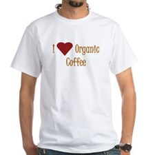 I (Heart) Organic Coffee Shirt