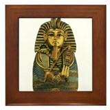King Tut #1 Framed Tile