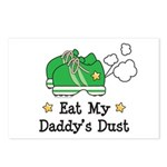 Eat My Daddy's Dust Marathon Postcards (Package of