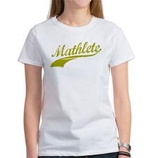 Mathlete Gold Tee