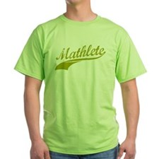 Mathlete Gold T-Shirt