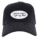 I Wear Grey For My Dad 2 (BC) Baseball Cap