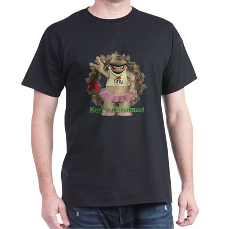 Heather Hippo Dark T-Shirt