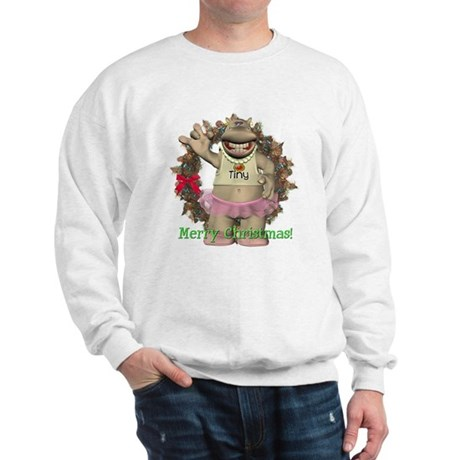 Heather Hippo Sweatshirt