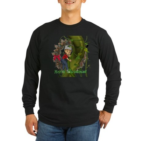 Jack and the Beanstalk Long Sleeve Dark T-Shirt