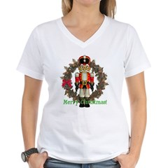 Nutcracker (Red) Women's V-Neck T-Shirt