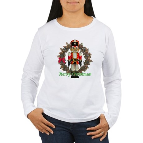 Nutcracker (Red) Women's Long Sleeve T-Shirt