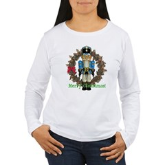 Nutcracker (Blue) Women's Long Sleeve T-Shirt