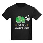 Eat My Daddy's Dust Marathon Kids Dark T-Shirt