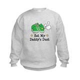 Eat My Daddy's Dust Marathon Sweatshirt