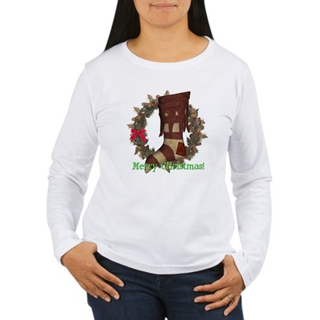 Christmas Stocking Women's Long Sleeve T-Shirt