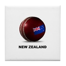 Cool Cricket new zealand Tile Coaster