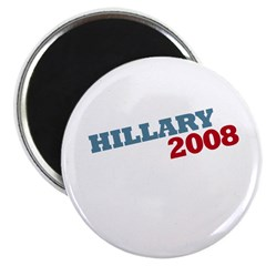 """Hillary 2008"" Red and Blue 2.25"" Magnet (10 pack"