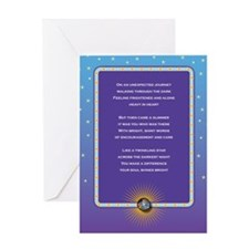 Liver Families Luminary Greeting Card