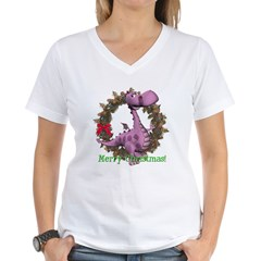 Dusty Dragon Women's V-Neck T-Shirt