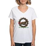 Fawn Women's V-Neck T-Shirt