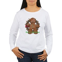 Gingerbread Man Women's Long Sleeve T-Shirt