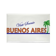 Visit Scenic Buenos Aires, Ar Rectangle Magnet (10