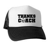 Soccer Thanks Coach Trucker Hat