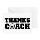 Soccer coach Single Card
