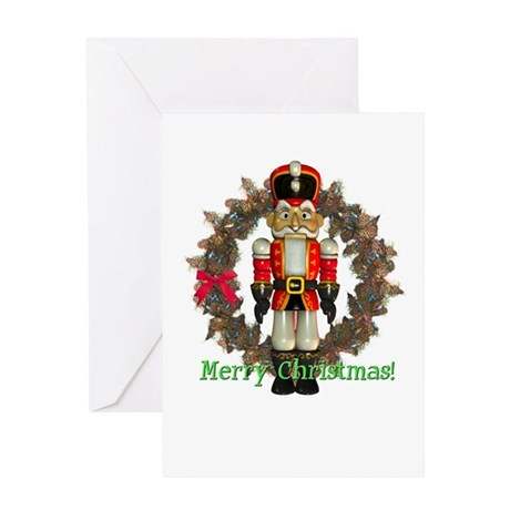 Nutcracker (Red) Christmas Card