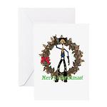Hay Billy Christmas Card