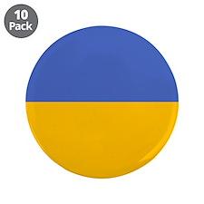"""""""Ukraine Flag"""" 3.5"""" Button (10 pack)"""