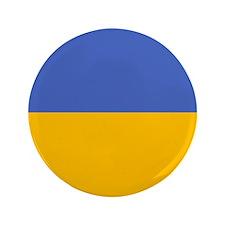"""""""Ukraine Flag"""" 3.5"""" Button"""