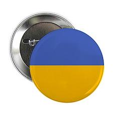 """""""Ukraine Flag"""" 2.25"""" Button"""