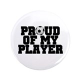 "Soccer Player Pride 3.5"" Button (100 pack)"