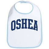 OSHEA design (blue) Bib