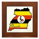 Cool Uganda Framed Tile