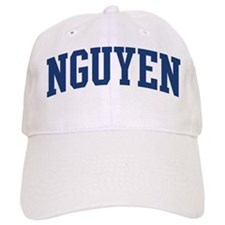 NGUYEN design (blue) Baseball Cap