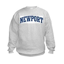 NEWPORT design (blue) Sweatshirt