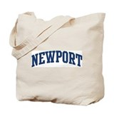 NEWPORT design (blue) Tote Bag