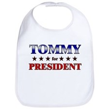 TOMMY for president Bib