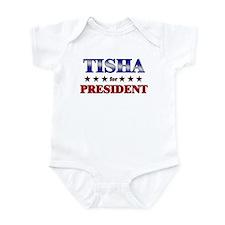 TISHA for president Infant Bodysuit
