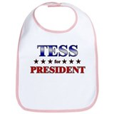 TESS for president Bib