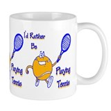 I'd Rather Be Playing Tennis Small Mug