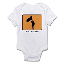 Color Guard (orange) Infant Bodysuit